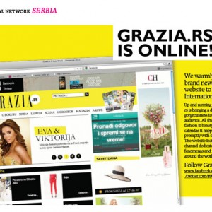 grazia.rs is online!