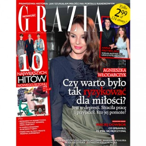 FANTASTIC RESULTS of Grazia first issues
