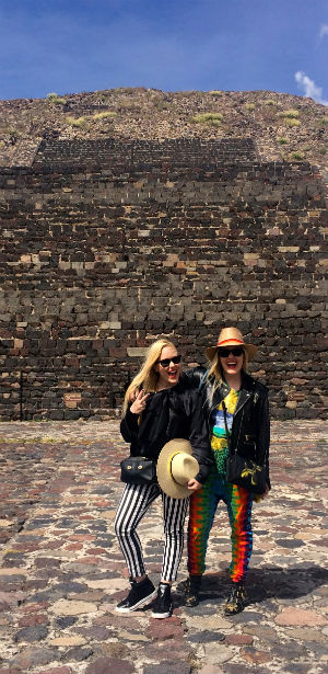 The Beckerman Sisters Travel to Mexico with Grazia