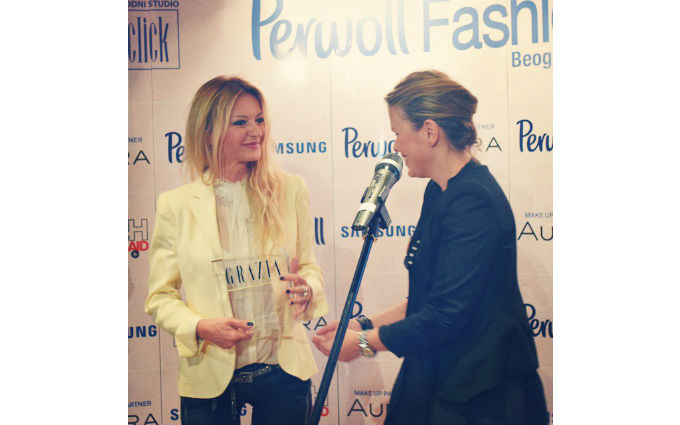Grazia Awards at Belgrade Fashion Week