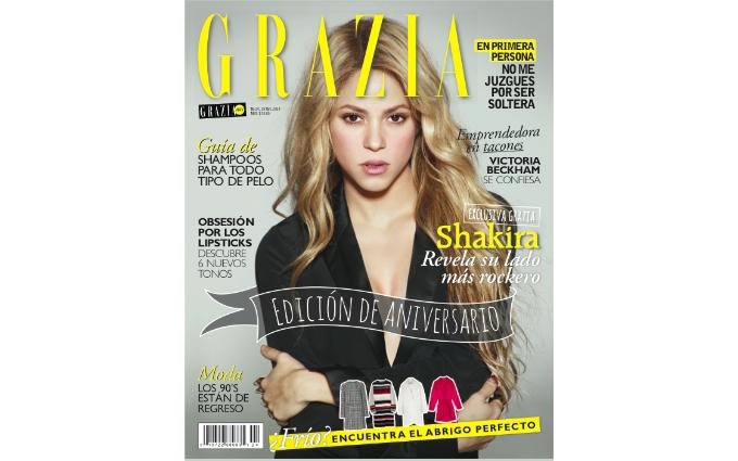 Feliz 1st Anniversary Grazia Mexico!
