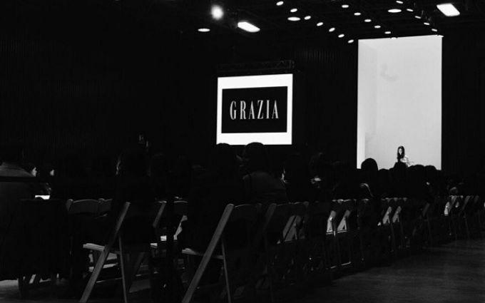 Cynthia Grajales at Compra Moda Nacional