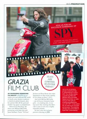 Film Club: Spy Preview