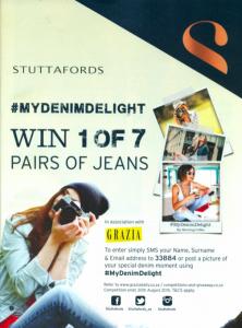 Stuttafords Jeans Competition