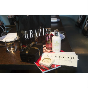 Grazia Luxury FW15 Launch Event