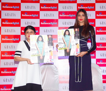Athiya Shetty makes the cover