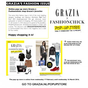 GRAZIA HOLLAND FASHIONCHICK