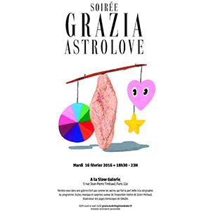 """GRAZIA FRANCE """"ASTRO LOVE"""""""