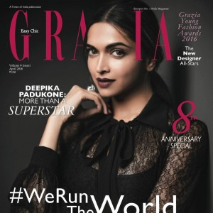 HAPPY BIRTHDAY GRAZIA INDIA!