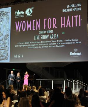 GRAZIA, WOMEN FOR HAITI