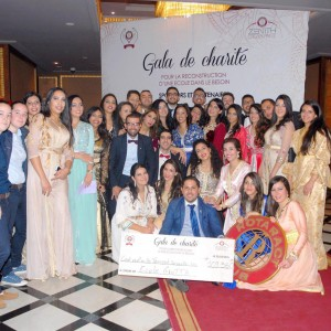 GRAZIA and the Charity Gala at Sheraton Hotel Casablanca