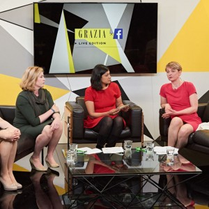 GRAZIA X Facebook – The Live edition