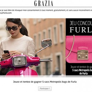 FURLA LOVES PARIS WITH GRAZIA