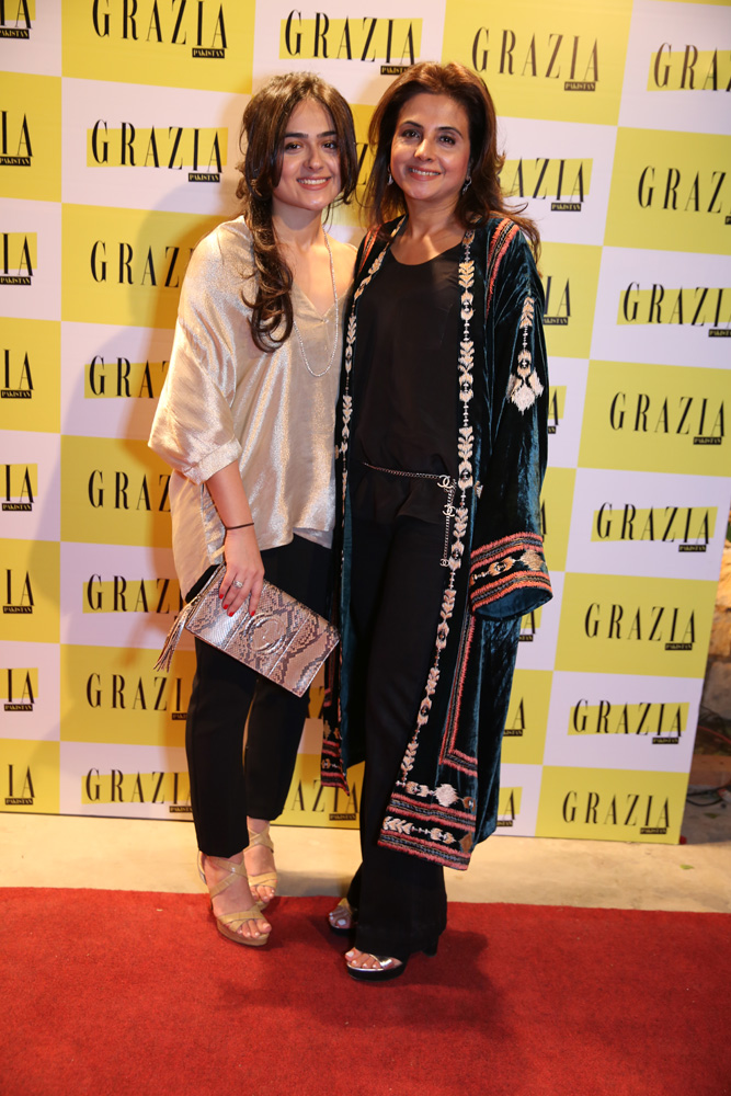 Alina Leghari & Saeeda Leghari