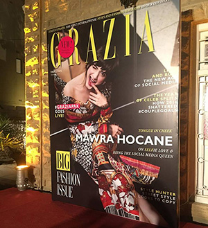 WELCOME GRAZIA PAKISTAN!