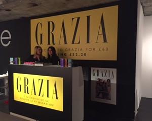 GRAZIA AT LONDON FASHION WEEK FESTIVAL