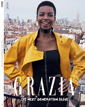 THE NEXT GENERATION ISSUE! GRAZIA ROCKS!