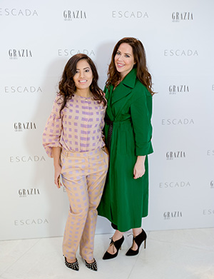 GRAZIA WITH ESCADA FOR A NEW OPENING IN DOHA