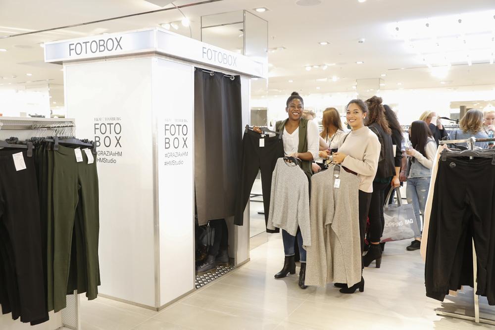 H&M X Grazia Flagship Store Opening In Hamburg