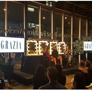 GRAZIA STYLE LESSONS IN SYDNEY AT MBFW