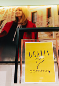 GRAZIA LOVES COMMA