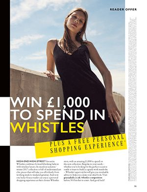 SPECIAL SHOPPING WITH GRAZIA & WHISTLES