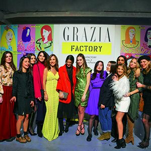 THE LAUNCH OF GRAZIA FACTORY