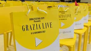 FIRST GRAZIA  LIVE AT DOHA FESTIVAL