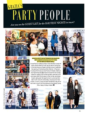 STYLISH AFTERNOON WITH GRAZIA AND AMERICAN EAGLE OUTFITTERS