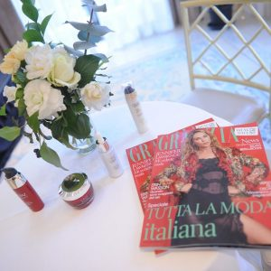 AN  AFTERNOON FULL OF BEAUTY WITH GRAZIA & OLAZ