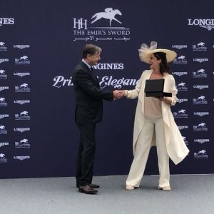 GRAZIA EDITOR IN CHIEF JUDGE AT LONGINES ELEGANCE CONTEST