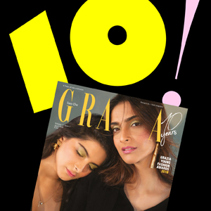 HAPPY 10TH ANNIVERSARY GRAZIA INDIA!