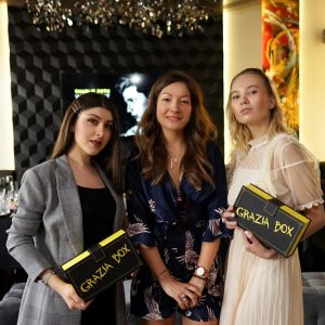 THE LAUNCH OF GRAZIA BOX