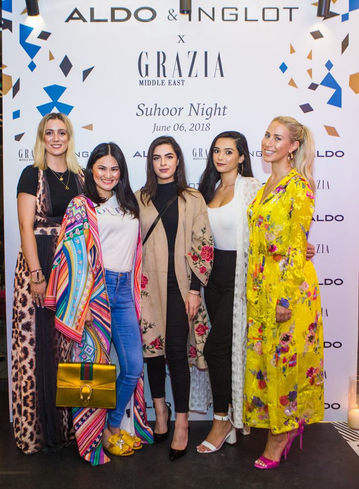 Grazia x Aldo Suhoor Night