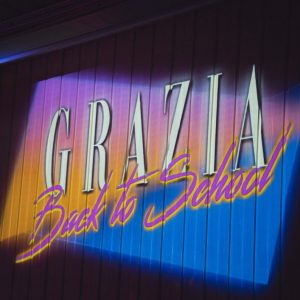 """GRAZIA CELEBRATES THE NEW FASHION ISSUE BY GOING """"BACK TO SCHOOL""""!"""