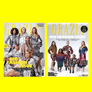 GRAZIA CELEBRATES DIVERSITY IN FASHION WITH THE NEW FASHION ISSUE