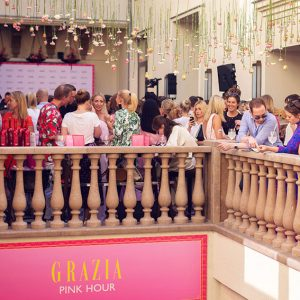 GRAZIA PINK HOUR COCKTAIL DURING BFW