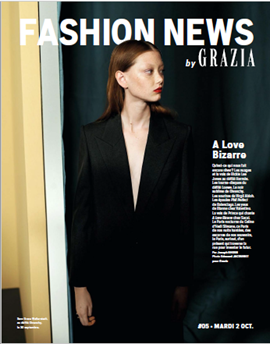 "GRAZIA SPECIAL ""FASHION NEWS"""