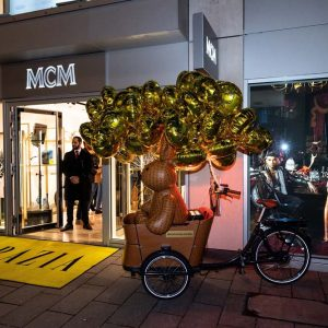 LET'S CELEBRATE THE NEW MCM STORE OPENING