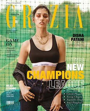 GRAZIA COVER WITH SPECIAL HEROES