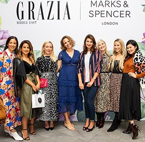 THE GRAZIA GARDEN PARTY WITH MARKS & SPENCER