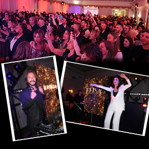 "GRAZIA, MUSIC AND GLAMOUR FOR THE OPENING PARTY ""EVVIVA SANREMO"""