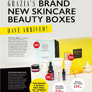 GRAZIA & LATEST IN BEAUTY BOX