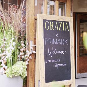 GRAZIA x PRIMARK SUSTAINABLE DINNER