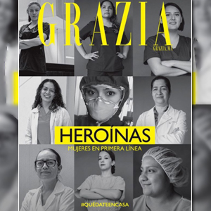 GRAZIA AND THE FEMALE MEDICAL STAFF