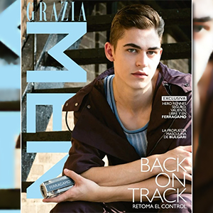GRAZIA MEN WITH HERO FIENNES