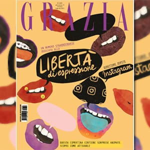 GRAZIA AND INSTAGRAM FOR THE FREEDOM OF EXPRESSION